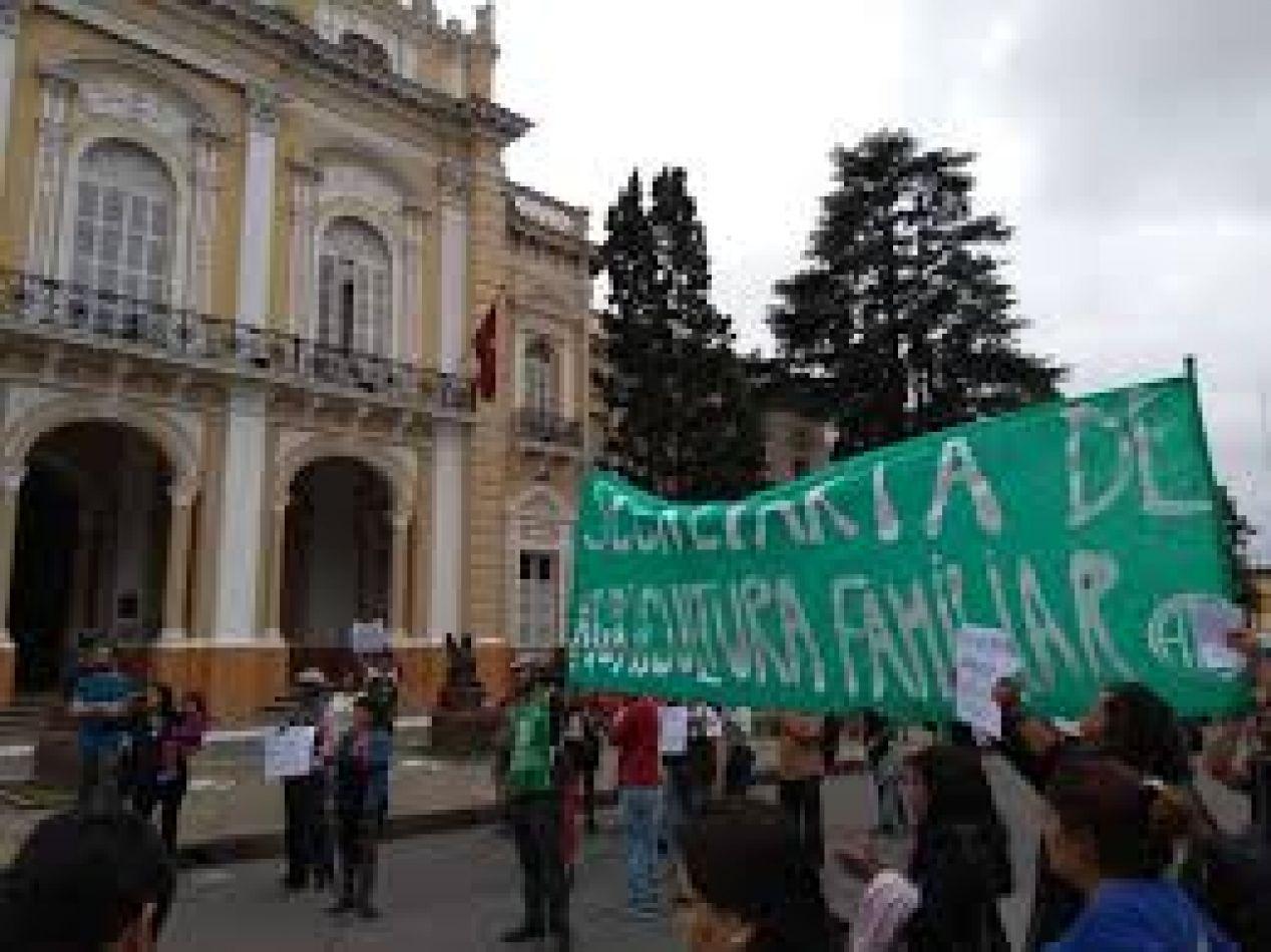 Una delas marchas de los trabajadores despedidos