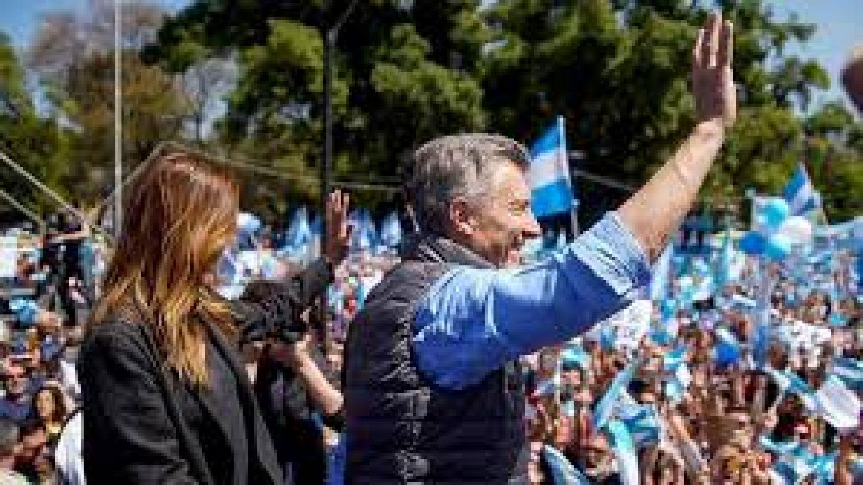 Macri en modo campaña