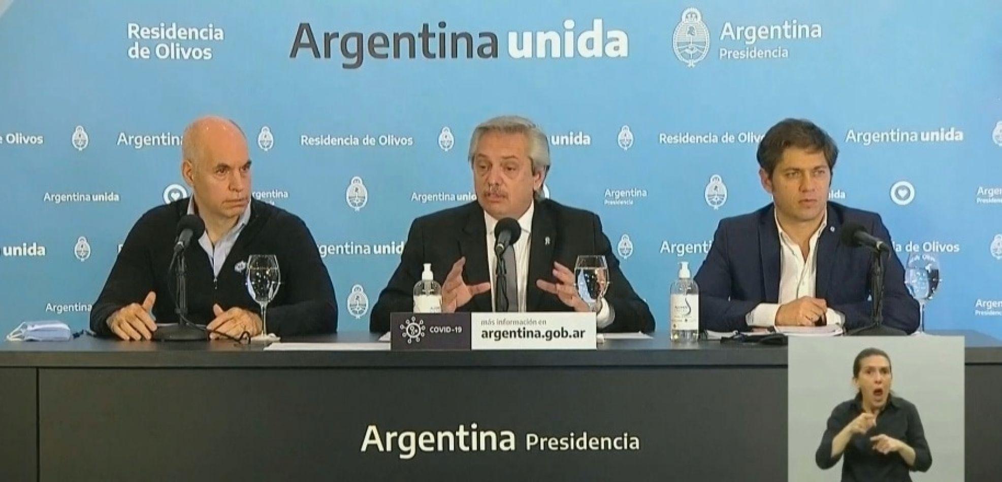 Argentina sigue en cuarentena hasta el 7 de junio
