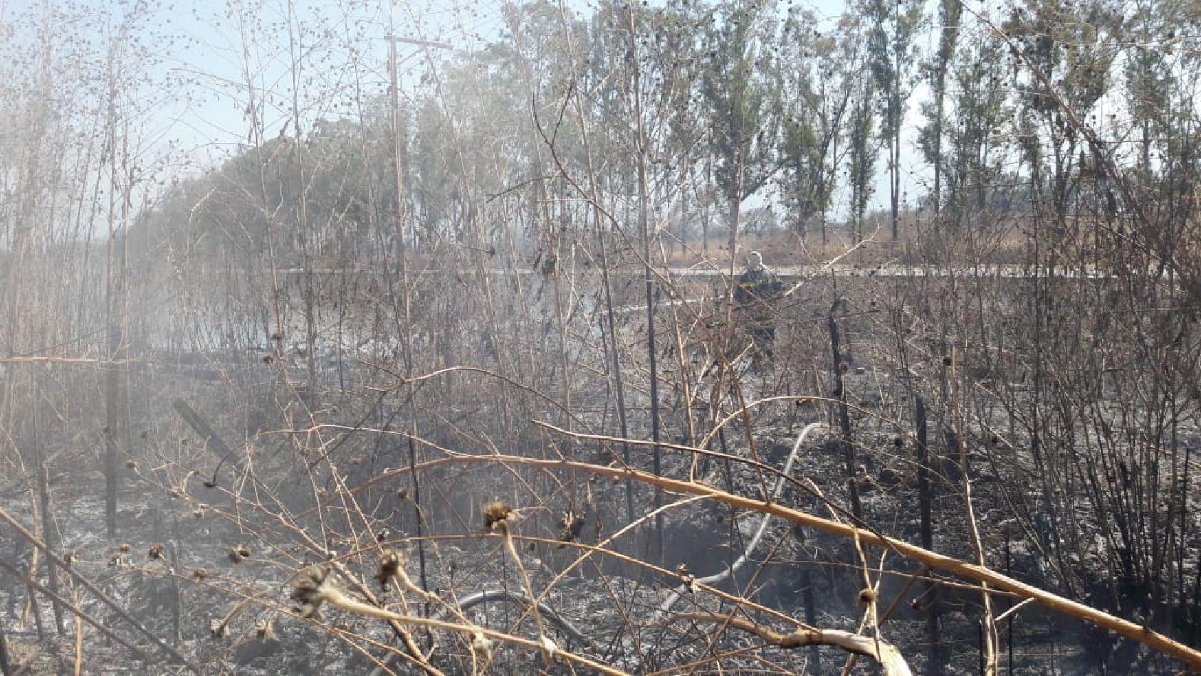 Fuego en La Silleta