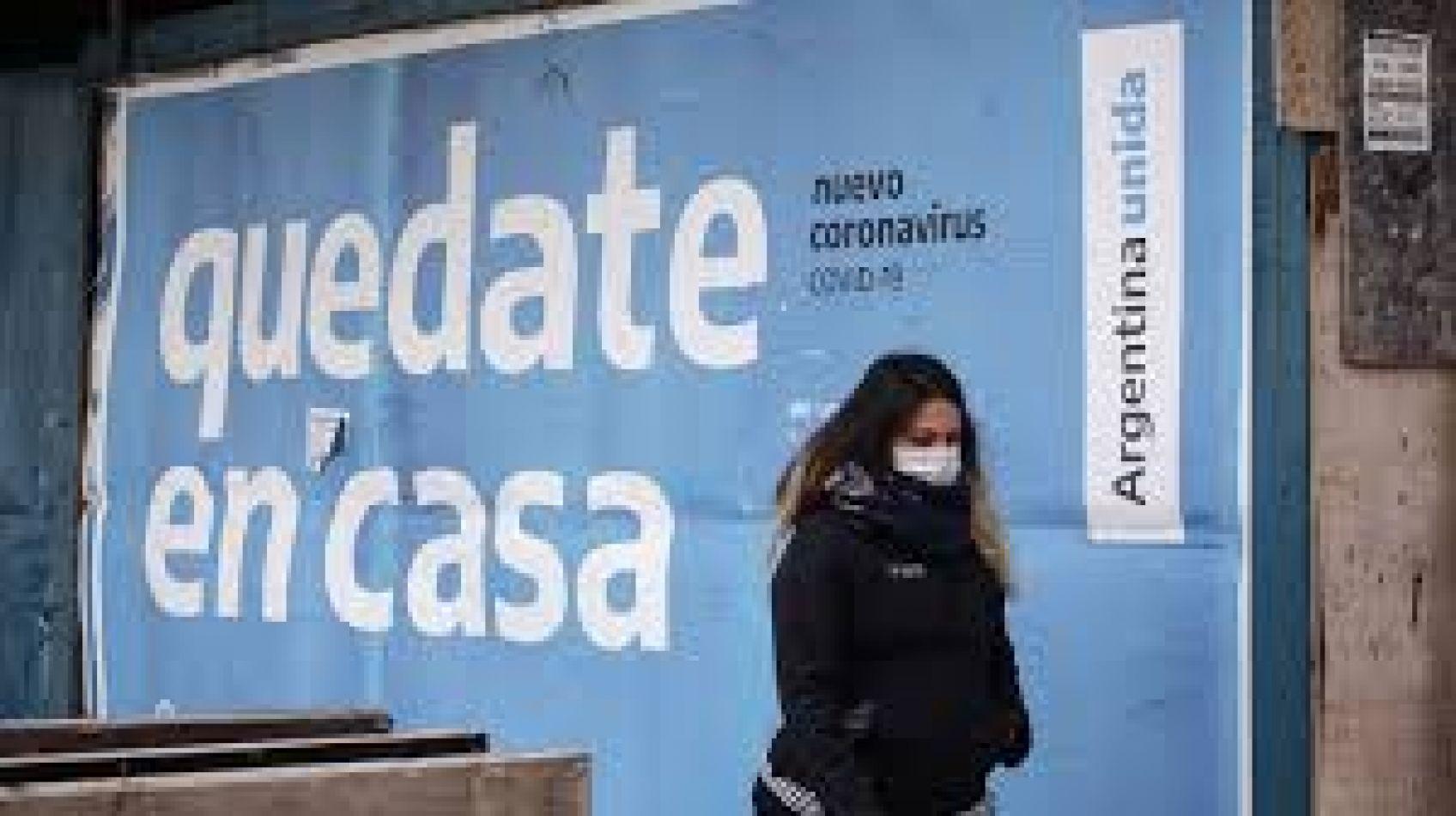 La pandemia crece día a día en Argentina