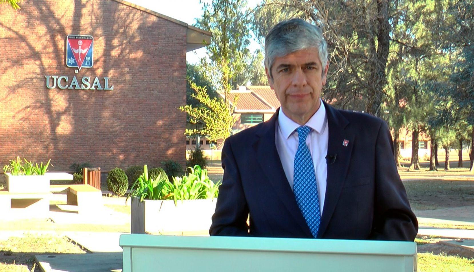 Rodolfo Gallo Cornejo, rector de UCASAL