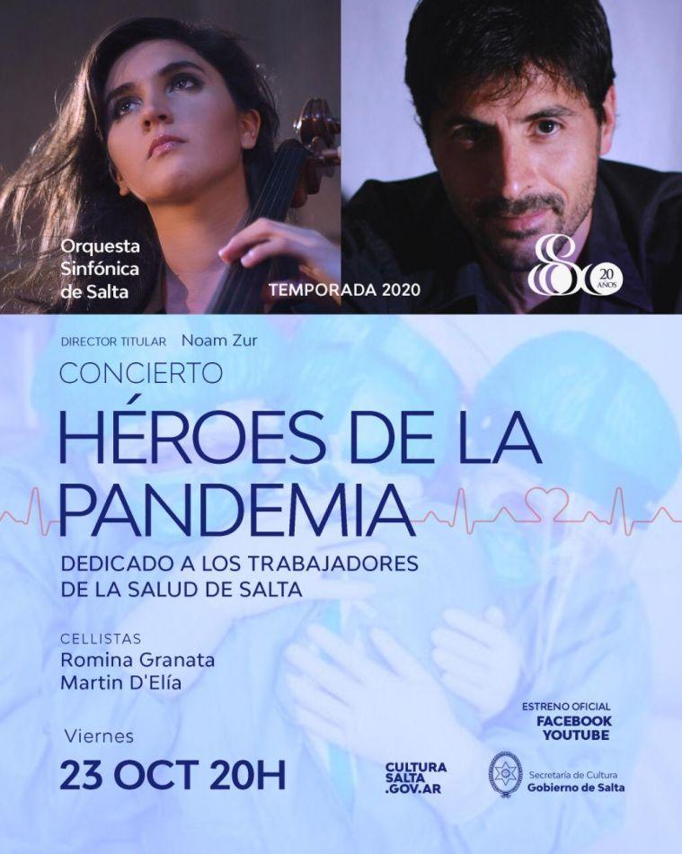 Música para los héroes de la Pandemia