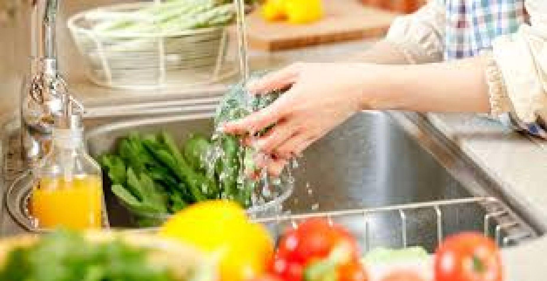 Limpieza de alimentos