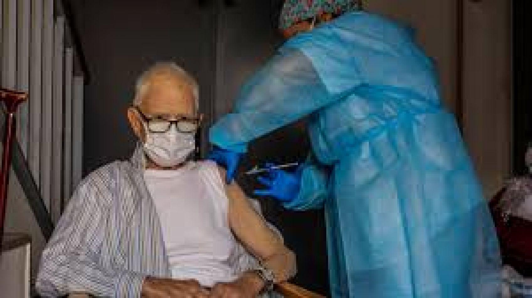 Primero se vacunará en geriátricos