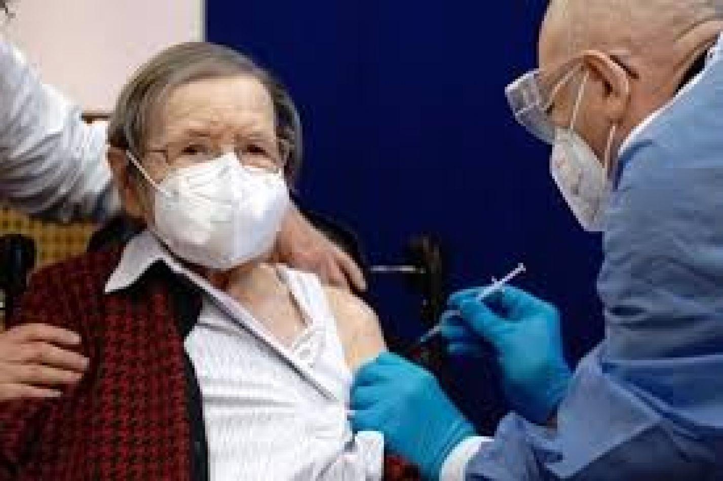 Vacunación para adultos mayores