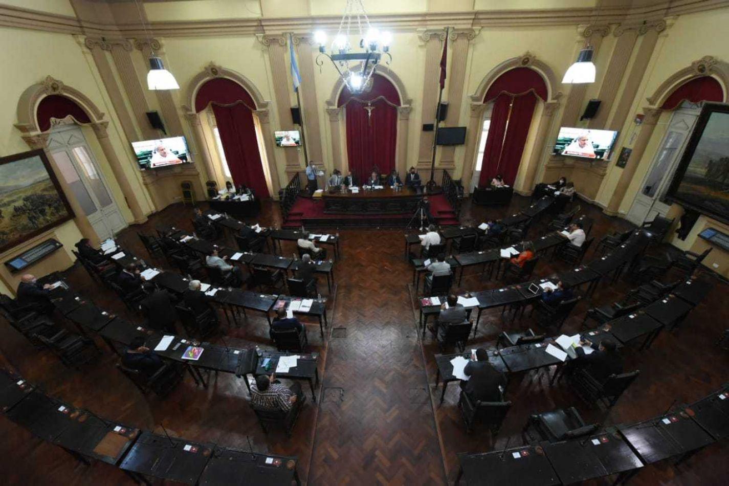 Sesión del Senado provincial