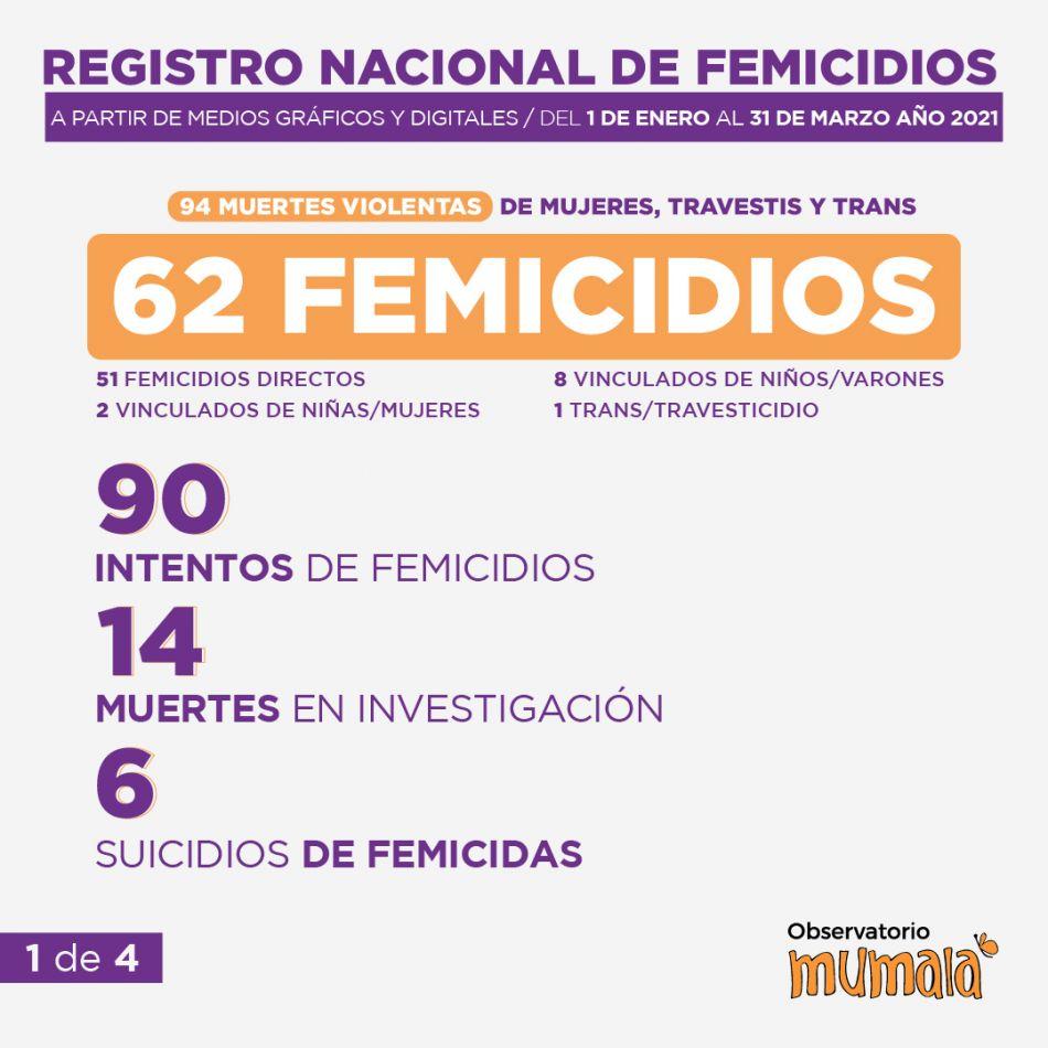 Registro nacional de femicidios