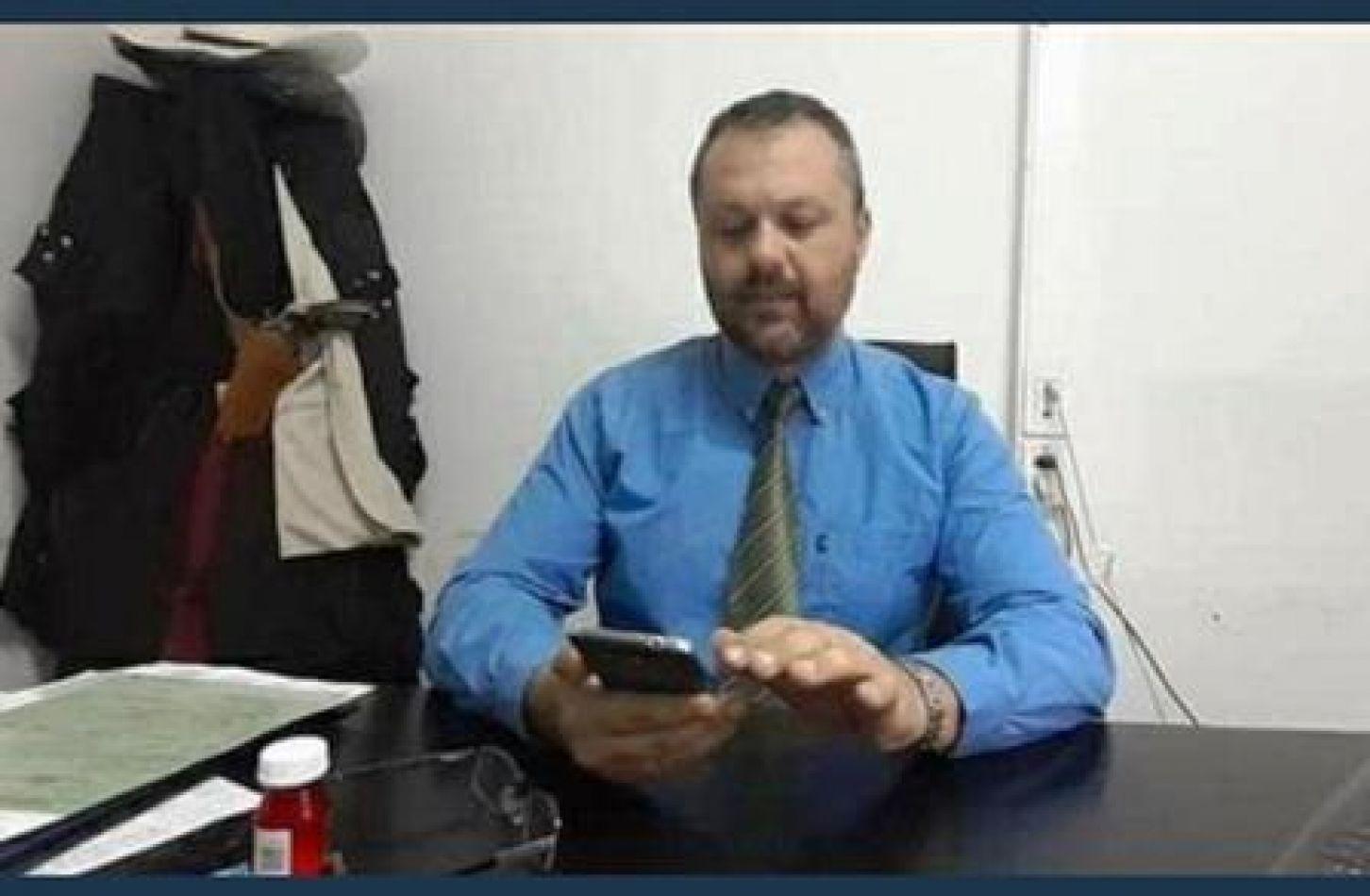 El exauxiliar fiscal de la Delegación Fiscal de Apolinario Saravia, Sergio Ariel Dantur