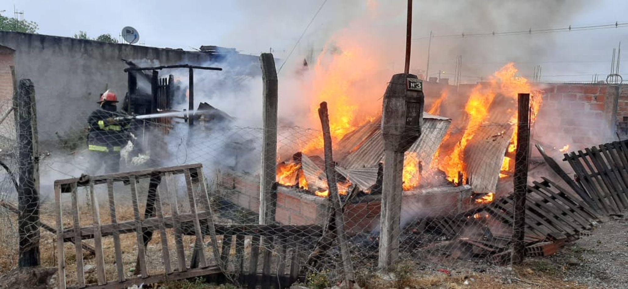 Fuego en La Ciénaga
