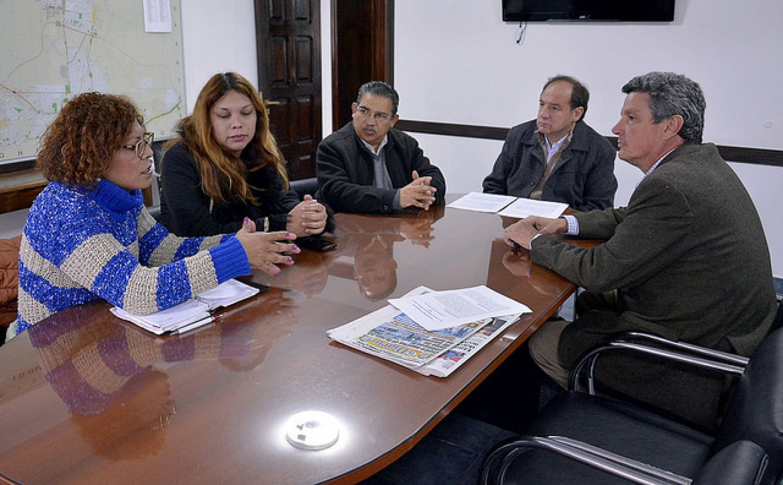 Participaron concejales y el titular del INADI