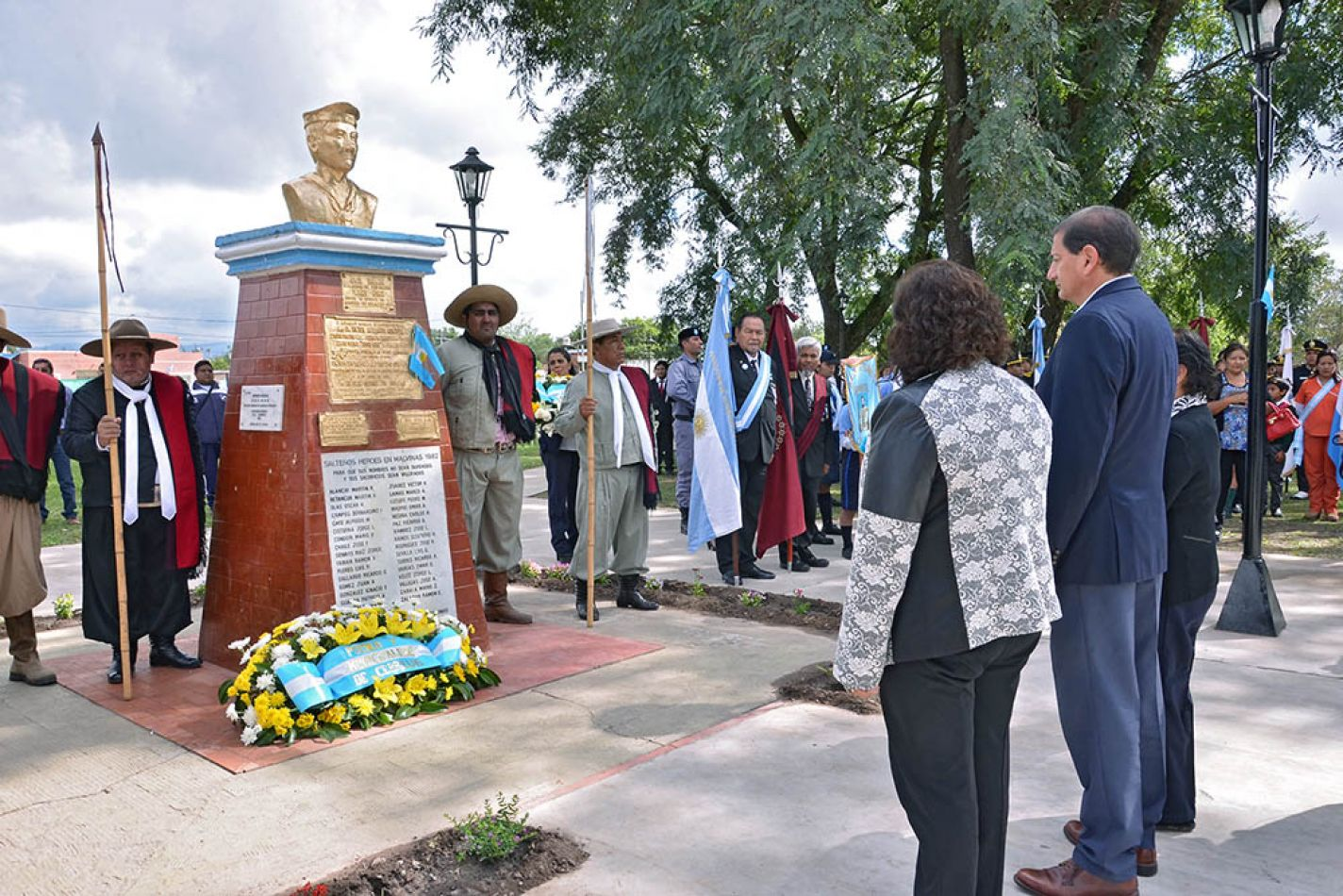 Homenaje a Patricio Guanca