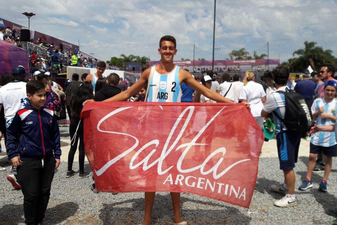 José Basualdo representa a Salta en los Juegos Olímpicos de la juventud