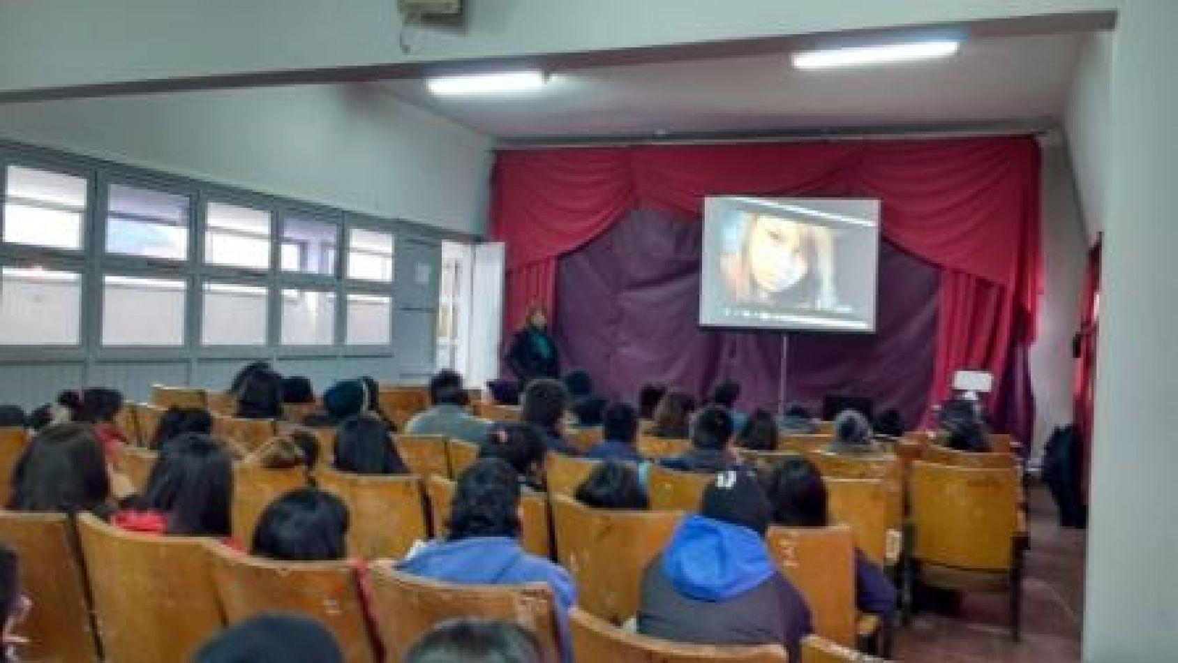 Participaron unas 70 alumnos