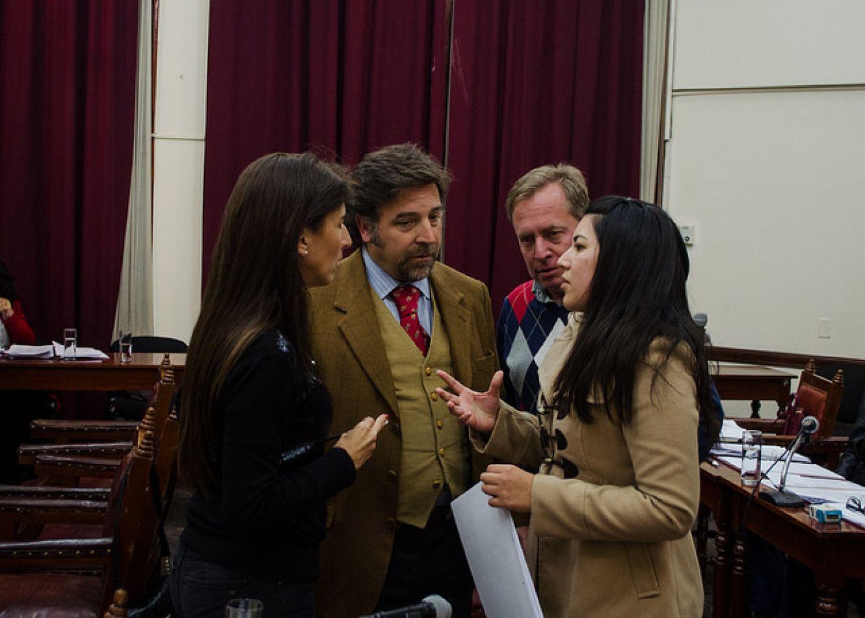 Discusiones en la sesión del Concejo Deliberante