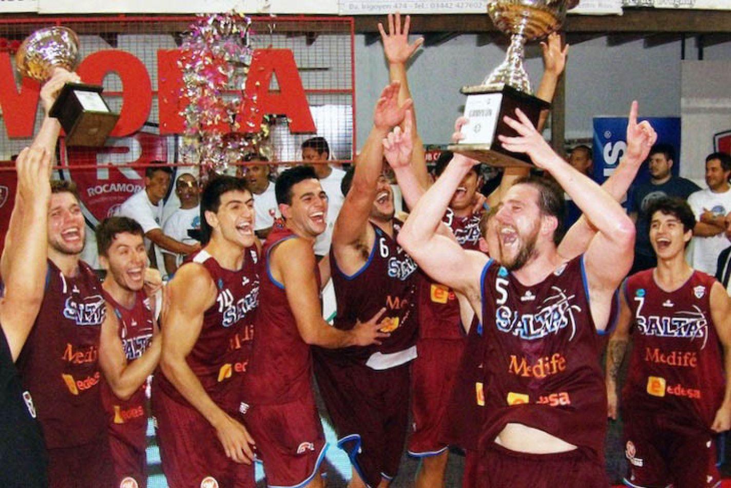 Festeja Salta Basket
