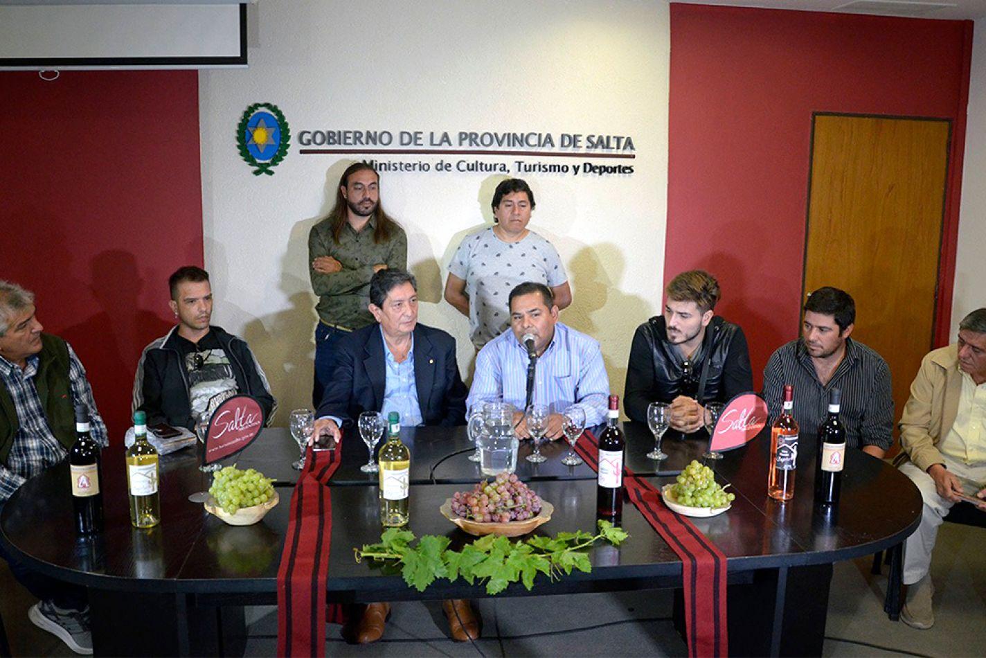 Presentación del festival en Angastaco