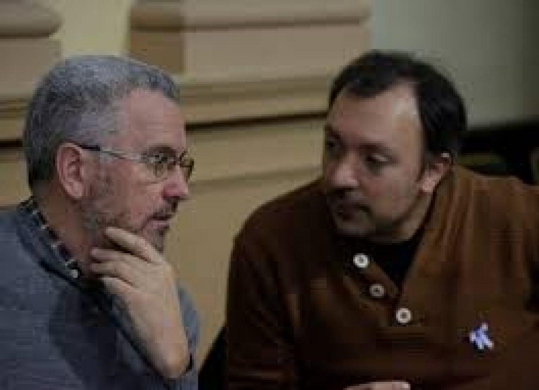 Otros tiempos, cuando Borelli consultaba su discurso con Del Plá