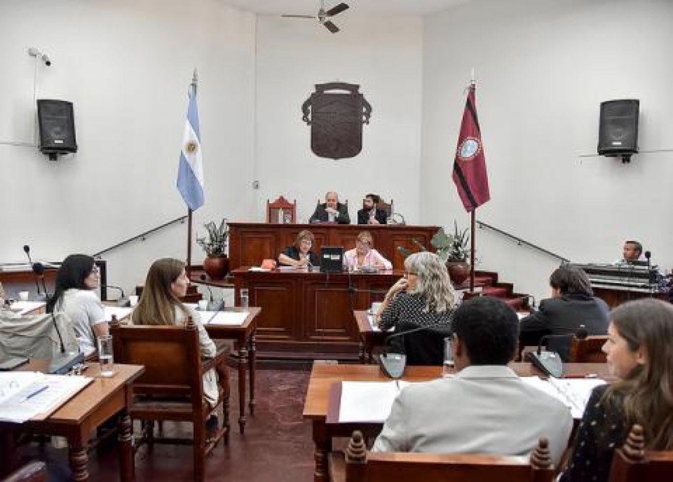 Sesión del Concejo