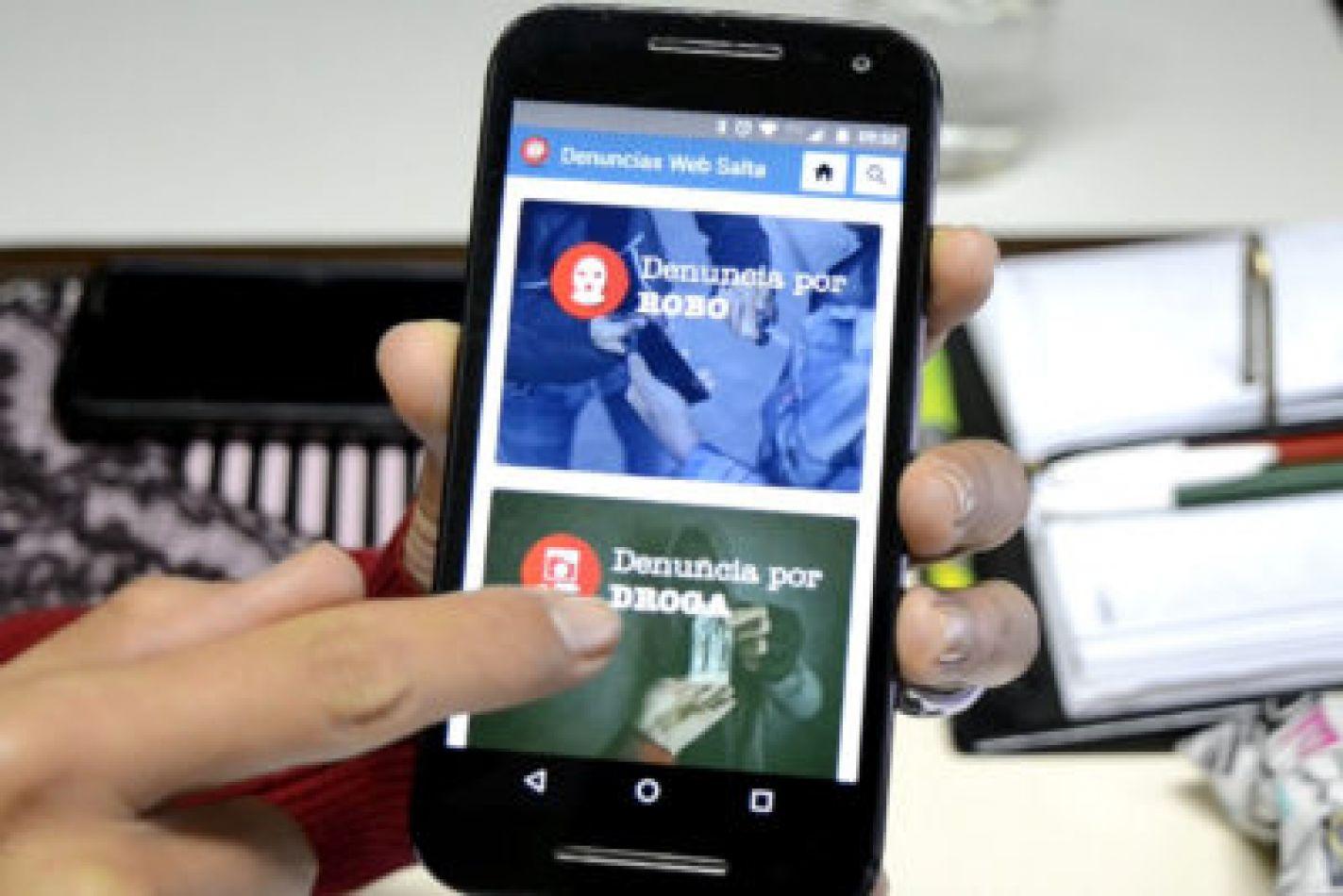 La App de Denuncias web