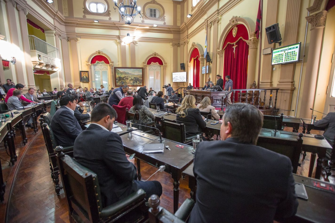 Sesión en Diputados