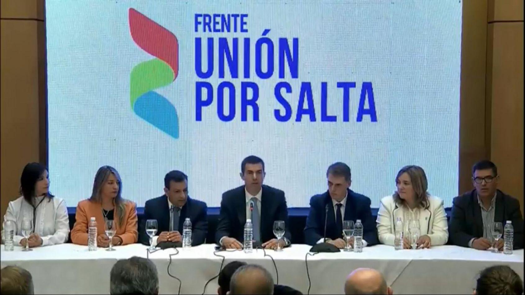 Los candidatos de Unión por Salta