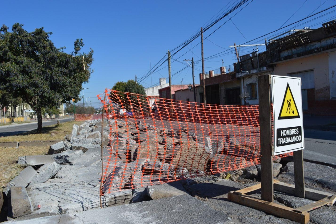 corte de calles por obras
