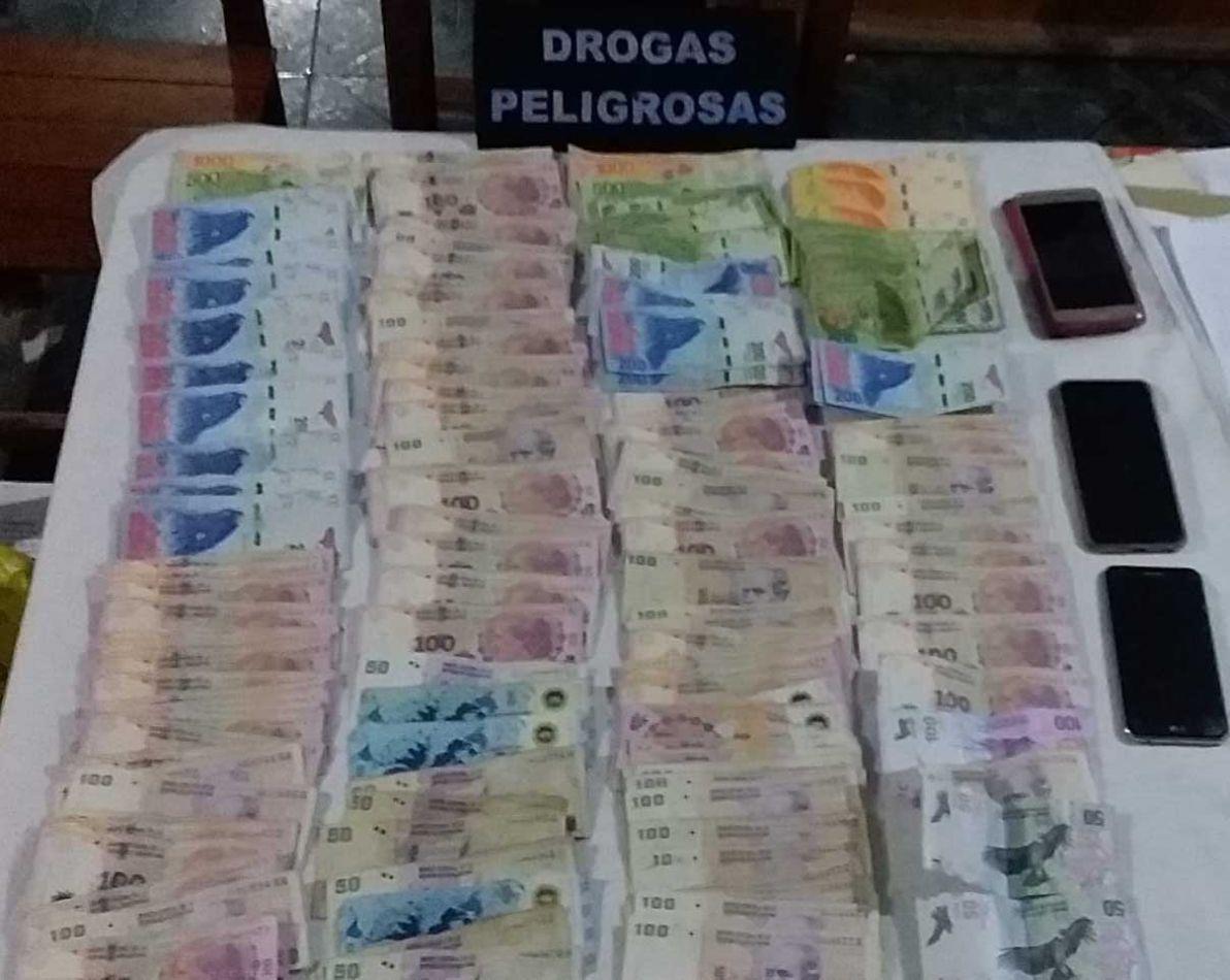 Dinero secuestrado