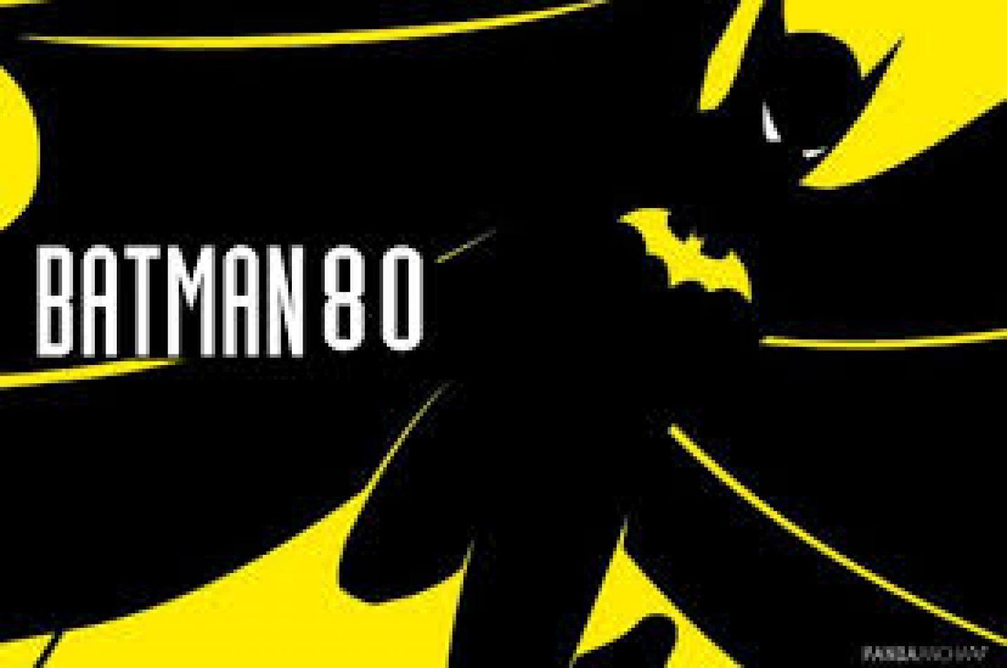 Batman cumple 80 años